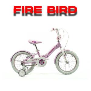 BICICLETA R16 ACERO HONEY FIREBIRD